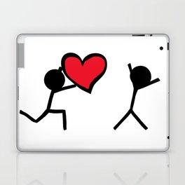 I love you by Oliver Henggeler Laptop & iPad Skin