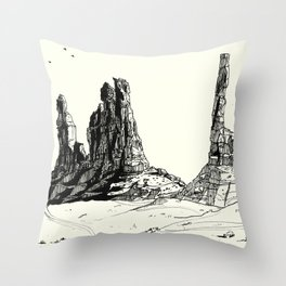 Sedona Sketching 03 Throw Pillow