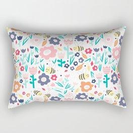 Doodle Bug - Bee Rectangular Pillow