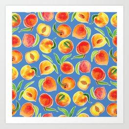 That's Peachy Art Print