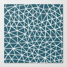 Segment Blue Canvas Print