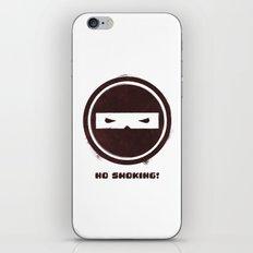 no smoking iPhone & iPod Skin