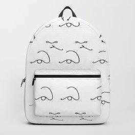 Minimalist portrait n3 Backpack