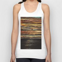 records Tank Tops featuring Sunrise Records by Margaux Thibeault