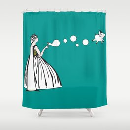 The Queen City  Shower Curtain