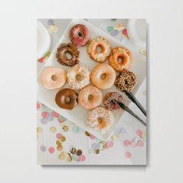 Beautiful Food by Tania Miron Metal Print