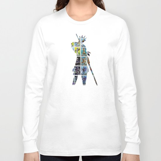 Cut StarWars Collage 8 Long Sleeve T-shirt