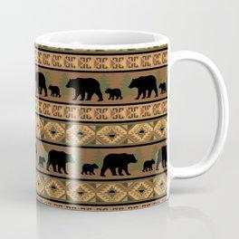 Black Bear and Cub Coffee Mug