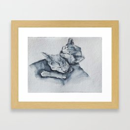 Sisters by Machale O'Neill Framed Art Print