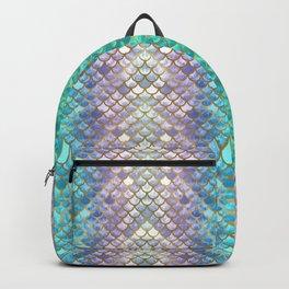Pretty Mermaid Scales Backpack