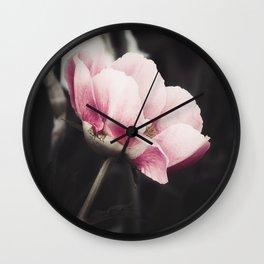 Romancing Pink Wall Clock
