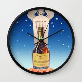 Vintage Cognac Rouyer Alcoholic Aperitif Advertising Poster Wall Clock