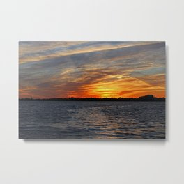 Changes on the Caloosahatchee I Metal Print