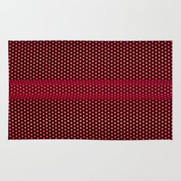 RED MESH Rug