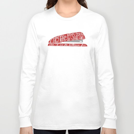 Office Space Long Sleeve T-shirt