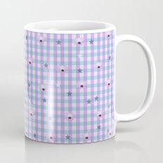 Gingham flowers Mug