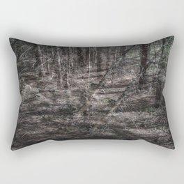 Falling Tree Rectangular Pillow