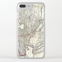 Map of Persia, Arabia and Turkey - Vaugondy - 1753 Clear iPhone Case