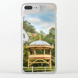 Walhalla Bandstand Clear iPhone Case