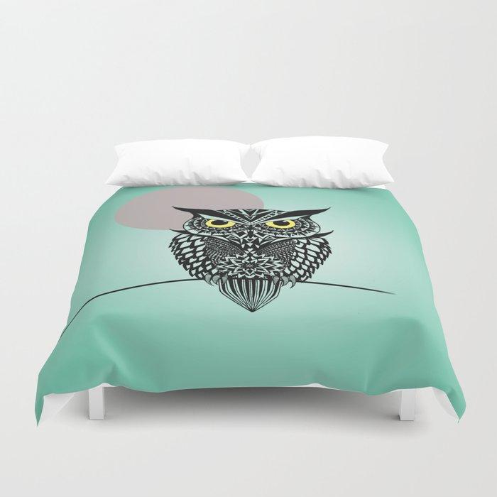 owl  Duvet Cover