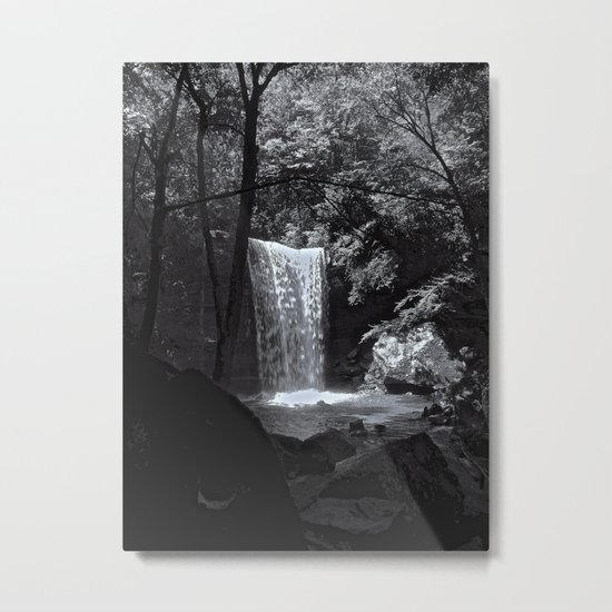 Ohiopyle's Cucumber Falls Metal Print