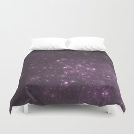 Purple Galaxy of Sir Douglas Fresh Duvet Cover