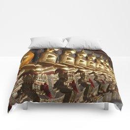 Golden Buddhas Comforters