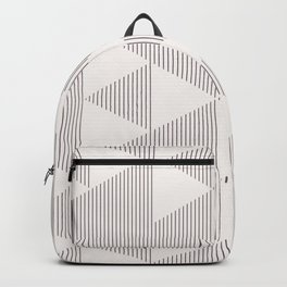 Triangles and Lines Backpack