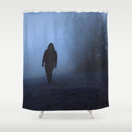 Walk into this void Shower Curtain
