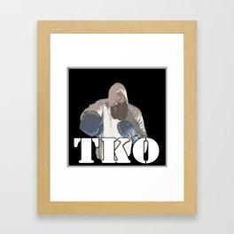 TKO Framed Art Print