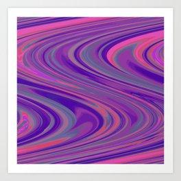 Psychedelica Chroma XXIV Art Print