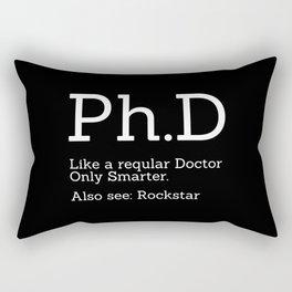 Ph.D Candidate Rectangular Pillow