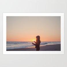 Lo que trae el mar Art Print
