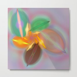 Abstract lighteffects -20- Metal Print