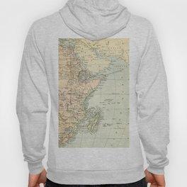 North East Africa Vintage Map Hoody