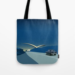 "Soviet Modernism: ""Seagull"" road mark at the northern entry of Yerevan Tote Bag"