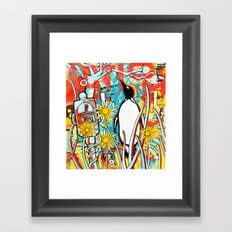 Metered Parking Framed Art Print