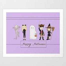 Happy Halloween 2 Art Print