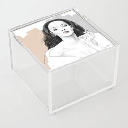 Rihanna Acrylic Box