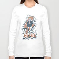 acdc Long Sleeve T-shirts featuring acdc angus young by aceofspades81