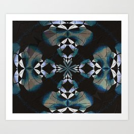 Healing Earth Mandala Art Print