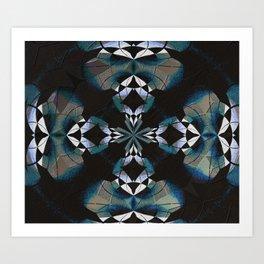 Healing Earth Mandala Art Print