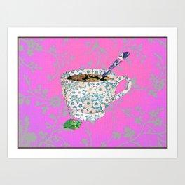 High Tea! Art Print