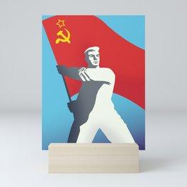 Soviet Union Mini Art Print