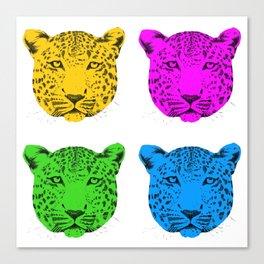 Panthera pardus Canvas Print
