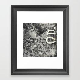 666 Mix Framed Art Print