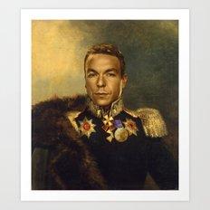 Sir Chris Hoy - replaceface Art Print
