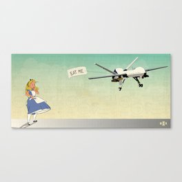 Drone Alice Canvas Print