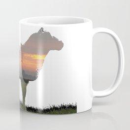 sunrise sheep Coffee Mug