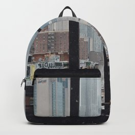 New York City Window Backpack